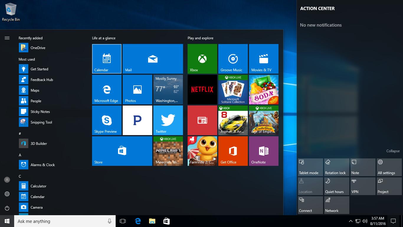 آموزش ویندوز ویندوز Windows میزکار DeskTop نوار وظیفه Taskbar منوی شروع Start Menu دسترسی به My Computer 10 ویندوز تن ویندوز سون و ویندوز هشت ویندوز XP سیستم عامل کاربر ویندوز