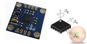 سنسور ژیروسکوپ Gyroscope sensor