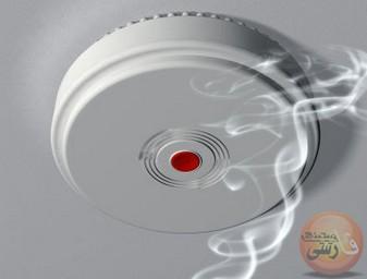سنسور دود سنسورهای تشخیص دود سنسور دود نوری (فوتوالکتریک) سنسور دود یونیزاسیون
