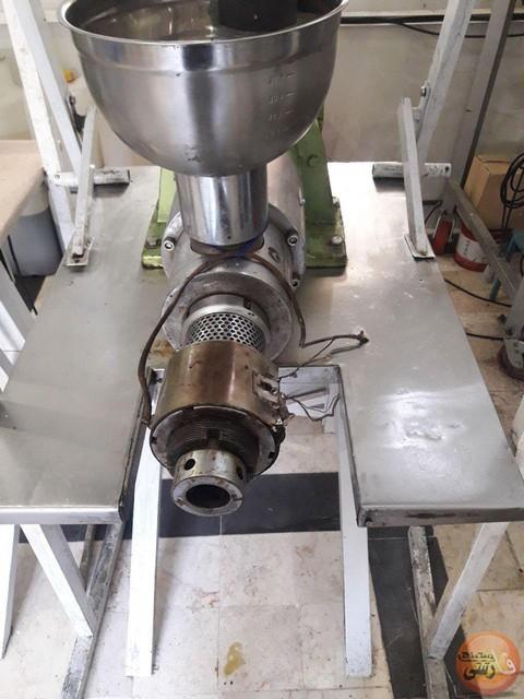دستگاه روغن کشی پرس سرد کالیبر 85 میلیمتر