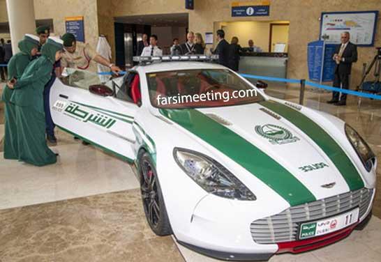 استون مارتین مدل Aston Martin One 77 - پلیس دبی