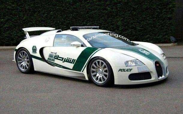 بوگاتی ویرون - Bugatti Veryon Police Doubai