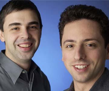 لری پیج و سرگی برین مبتکر موتور جستجوگر گوگل-Google-Page Rank-مالک گوگل