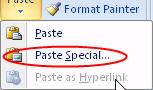 -Paste Special-کپی مخصوص ورد-charkhandane jadval-چرخاندن جدول-rotate table-چرخاندن متن در ورد