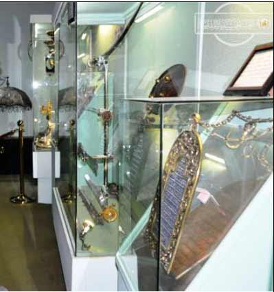موزه امام حسین-mozeh emam hossein
