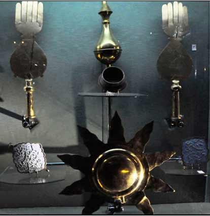 شمشیر - دست -mozeh emam hosein -موزه امام حسین