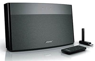 اسپیکر bose-اسپیکرBoseاسپیکری کوچک با کیفیت پخش مناسب-این محصول جدید در واقع یک اسپیکر قابل حمل است که با نام SoundLink Wireless به بازار معرفی شده است-اسپیکر بوس-bose-اسپیکر کوچک-speaker kochak-فایل های موسیقی-speaker bose