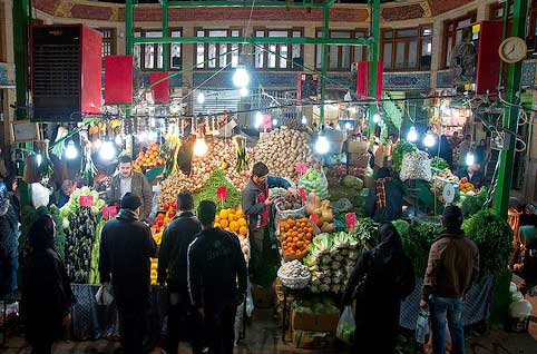 bazare tajrish-بازار تجریش تهران میدان تجریش اماکن دیدنی تهران-مکان های تهران-مکان های دیدنی