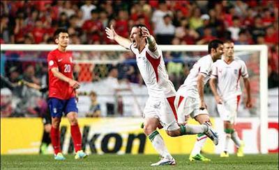 صعود تیم ملی فوتبال ایران به جام جهانی 2014 برزیل-worldcup 2014-برزیل-فوتبال-برد تیم فوتبال-کره جنوبی-football