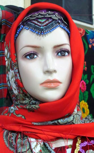 روسری_ترکمن