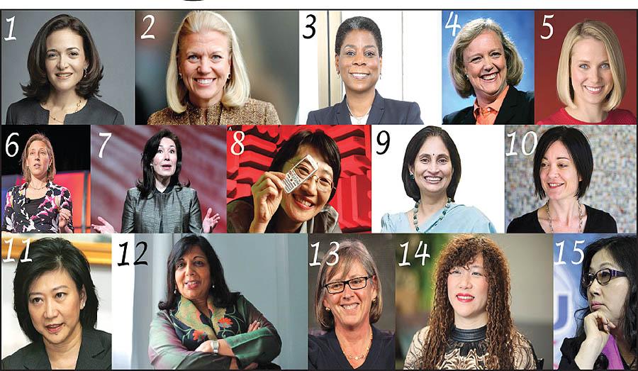 معرفی زنان قدرتمند دنیای تکنولوژی-zanan ghodratmande jahan-آنجلا مرکل - شرلی سندبرگ