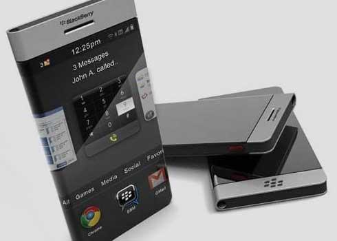 10 موبایل جالبی که به  زودی  در بازارخواهید دید-cell-phone-BlackBerry-Flex