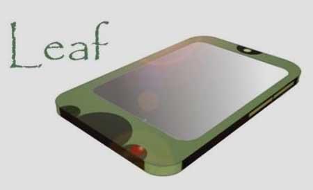 cell-phone-LG-Leaf10 -موبایل جالبی که به  زودی  در بازارخواهید دید! + عکس