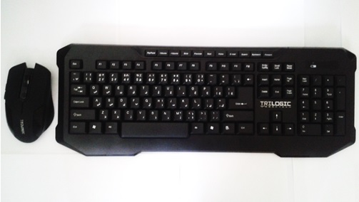 كيبورد كيبرد Model KBW-636 wireless  كي برد و موس وايرلس تري لاجيك keyboard تريلاجيك trilogic keboard mouse