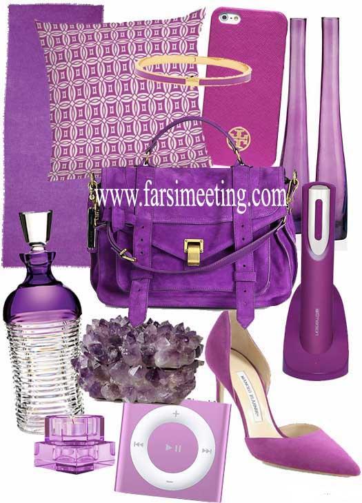 رنگ سال 93-رنگ سال 1393-color 2014-انتخاب رنگ سال 93-سرخابی درخشان-Radiant Orchid-نگ بنفش-رنگ سرخابی-رنگ گل ارکیده-Orchid flower-بنفش درخشان