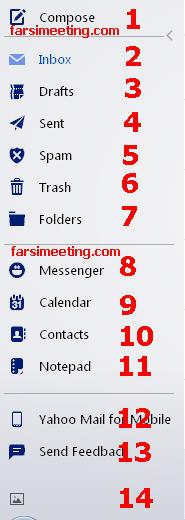 ارسال عکس از طریق ایمیل-ارسال ایمیل-ersal ax-آموزش ارسال ایمیل-Amoozesh ersal ax-ایمیل یاهو-اتچ کردن فایل-attach files