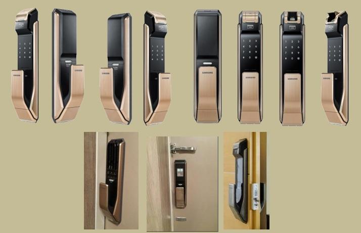 مشخصات قفل رمزي و اثر انگشتي با کارت تگ سامسونگ مدل SHS-P910 - قفل رمزی و اثر انگشتی - قفل دیجیتالی سامسونگ-قفل کارتی سامسونگ-قفل درب دیجتال رمز و کارت سامسونگ-samsung